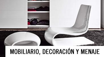 Mobiliario, decoración y menaje ::: Cupesa